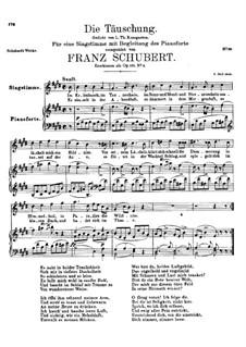 Обман, Op.165 No.4: Ми мажор by Франц Шуберт