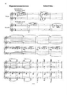 Первоначальная полька для фортепиано в четыре руки: Первоначальная полька для фортепиано в четыре руки by Михаил Глинка