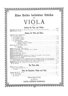Экспромт и романс для альта и фортепиано: Экспромт и романс для альта и фортепиано by Людвиг Горинг