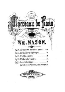 Rêverie poètique, Op.24: Rêverie poètique by Уильям Мэйсон
