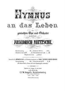 Гимн к жизни: Гимн к жизни by Фридрих Ницше