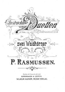 Дуэты для двух валторн: Дуэты для двух валторн by Петер Расмуссен