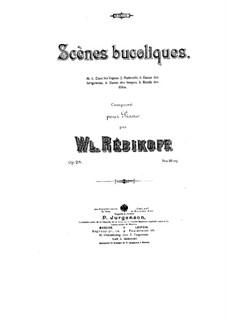 Пастушеские сцены, Op.28: Для фортепиано by Владимир Ребиков