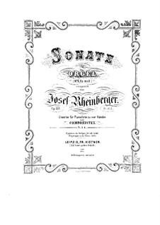 Соната для органа No.6, Op.119: Соната для органа No.6 by Йозеф Габриэль Райнбергер