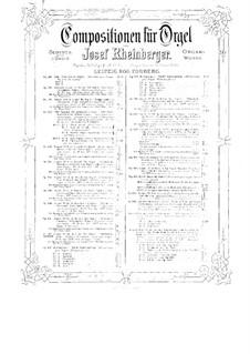 Соната для органа No.14, Op.165: Соната для органа No.14 by Йозеф Габриэль Райнбергер