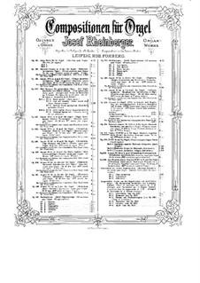 Соната для органа No.18, Op.188: Соната для органа No.18 by Йозеф Габриэль Райнбергер