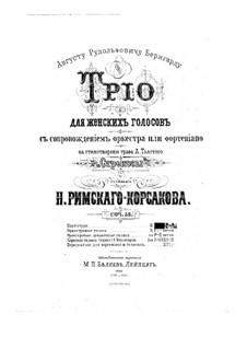 Стрекозы, Op.53: Стрекозы by Николай Римский-Корсаков