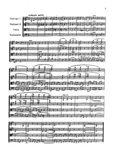 Анданте мольто для струнного квартета, TH 155: Анданте мольто для струнного квартета by Петр Чайковский