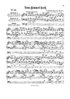 Хоральная прелюдия 'Vom Himmel hoch', Op.36 No.1: Хоральная прелюдия 'Vom Himmel hoch' by Вильгельм Руст