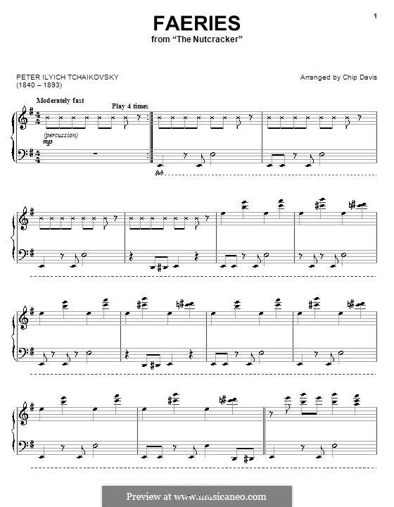 No.3 Танец феи Драже, для фортепиано: For a single performer (by Mannheim Steamroller) by Петр Чайковский