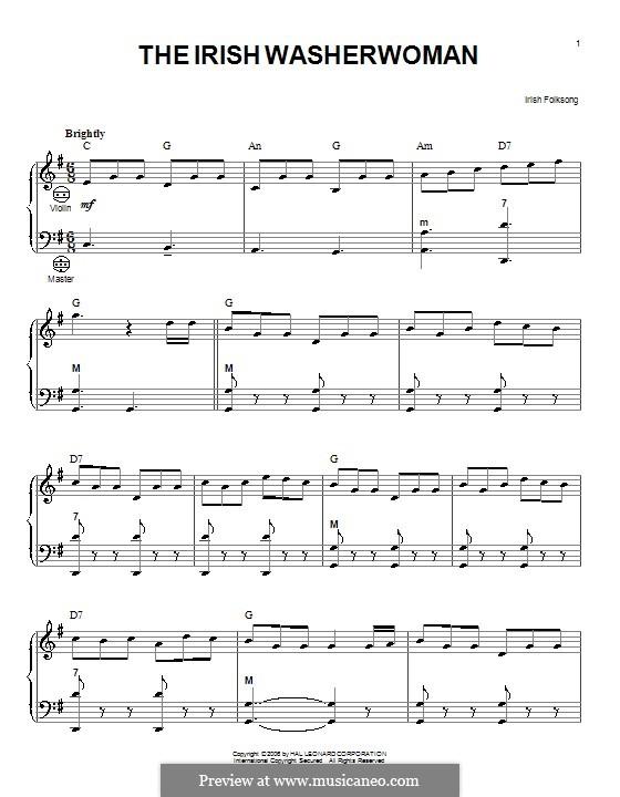 Ирландская прачка: Для аккордеона by folklore