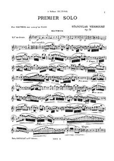 Solo de Concert No.1, Op.73: Solo de Concert No.1 by Станислас Верру