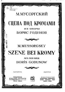 Фрагменты: Акт IV сцена II by Модест Мусоргский