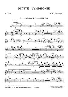 Маленькая симфония для духовых инструментов: Партии by Шарль Гуно