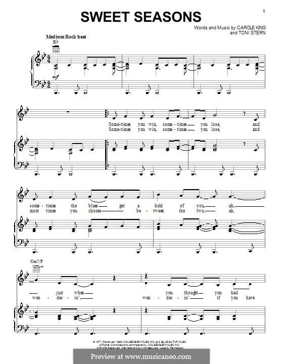 Sweet Seasons: Для голоса и фортепиано (или гитары) by Toni Stern