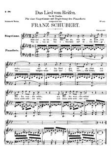 Das Lied vom Reifen (Song of the Frost), D.532: Das Lied vom Reifen (Song of the Frost) by Франц Шуберт