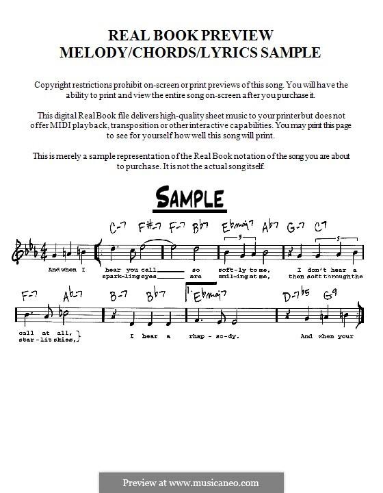 Yesterday (The Beatles): Мелодия, текст и аккорды - инструменты in C by John Lennon, Paul McCartney
