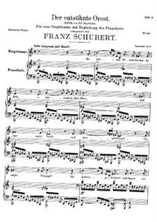 Der entsühnte Orest (Orestes Purified), D.699: C Major by Франц Шуберт
