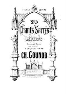 Chants sacrés: Chants sacrés by Шарль Гуно