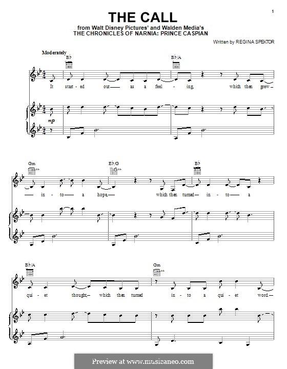 ноты для фортепиано хроники нарнии