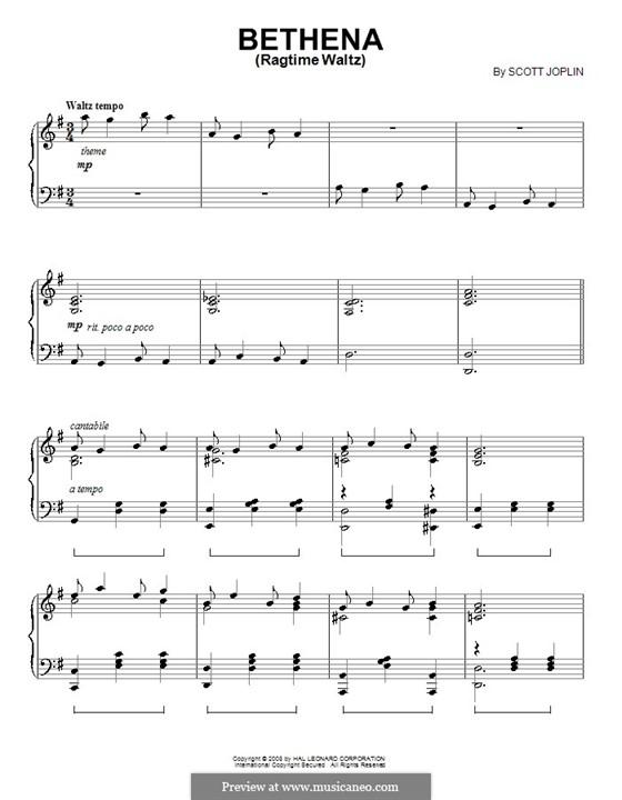 Бетена: Для фортепиано by Скотт Джоплин