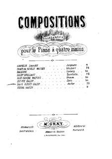 Sans Souci, Op.83: Первая и вторая партии by Йозеф Ашер