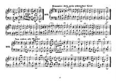 Четырехголосные хоралы: Riemenschneider's collection Book II No.101-201 by Иоганн Себастьян Бах