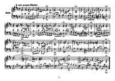 Четырехголосные хоралы: Riemenschneider's collection Book III No.202-301 by Иоганн Себастьян Бах