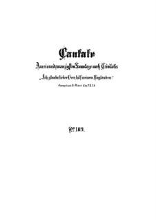 Ich glaube, lieber Herr, hilf meinem Unglauben!, BWV 109: Партитура by Иоганн Себастьян Бах