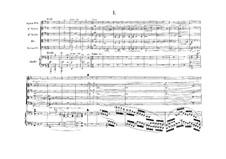Концерт для фортепиано, скрипки и струнного квартета, Op.21: Партитура by Эрнест Шоссон