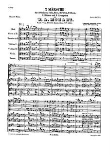 Два марша, K.335: Два марша by Вольфганг Амадей Моцарт