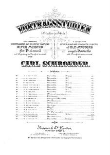 Гавот для виолончели и фортепиано: Гавот для виолончели и фортепиано by Вольфганг Амадей Моцарт