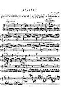 Соната для фортепиано No.16 до мажор, K.545: С аппликатурой by Вольфганг Амадей Моцарт