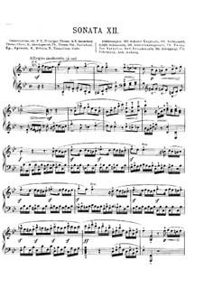 Соната для фортепиано си-бемоль мажор, K.Anh.136: Для одного исполнителя by Вольфганг Амадей Моцарт