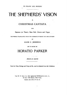 The Shepherds' Vision, Op.63: The Shepherds' Vision by Горацио Паркер