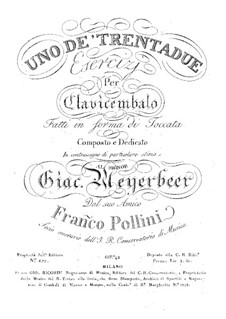 Упражнение в форме токкаты, Op.42: Упражнение в форме токкаты by Франческо Поллини