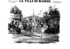 La fille de Marbre: La fille de Marbre by Цезарь Пуни