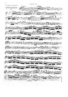 Квинтет для духовых инструментов ми минор, Op.100 No.4: Партии by Антон Рейха