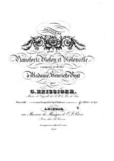 Фортепианное трио No.7, Op.85: Фортепианное трио No.7 by Карл Готлиб Райсигер