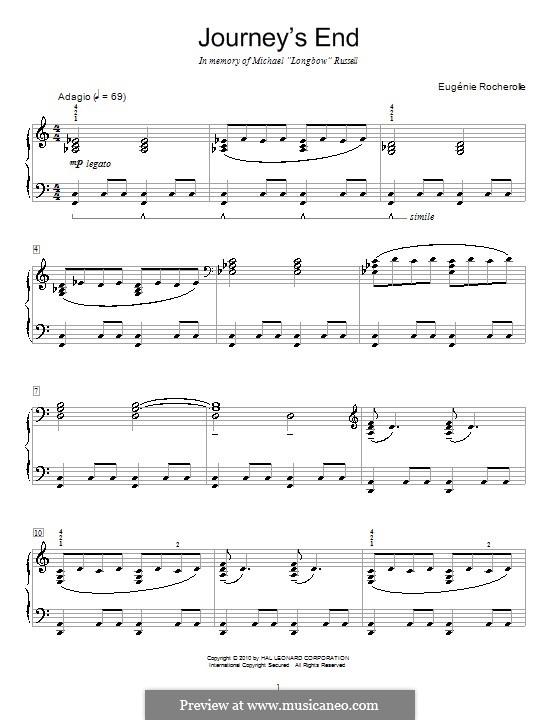 Journey's End: Для фортепиано by Eugénie Rocherolle
