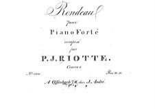 Рондо, Op.1: Рондо by Филипп Якоб Риотт