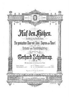 Auf den Höhen, Op.4: Auf den Höhen by Герхард Скьелдеруп