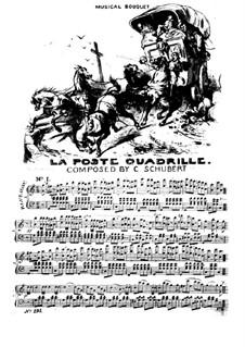 La Poste. Quadrille, Op.39: La Poste. Quadrille by Камиль Шуберт