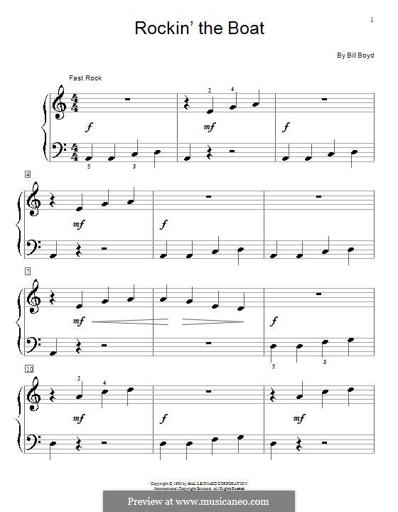 Rockin' the Boat: Для фортепиано by Bill Boyd