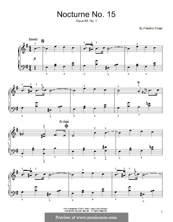 Ноктюрны, Op.15: No.1 фа мажор by Фредерик Шопен