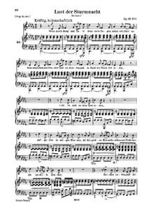 Двенадцать стихотворений для голоса и фортепиано, Op.35: Весь сборник (Немецкий текст) by Роберт Шуман