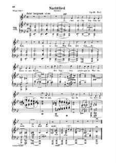 Песни и романсы, Op.96: Клавир с вокальной партией by Роберт Шуман