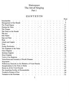 Искусство пения: Сборник by Уильям Шекспир (тенор)