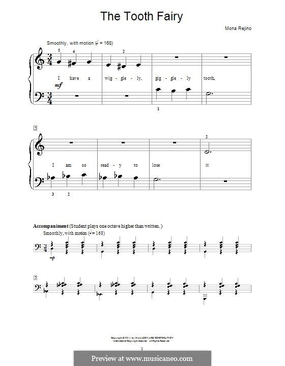 The Tooth Fairy: Для фортепиано by Mona Rejino