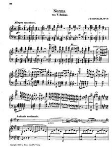 Фантазия на темы из оперы 'Норма' Беллини, Op.33: Фантазия на темы из оперы 'Норма' Беллини by Жан Батист Сенжеле